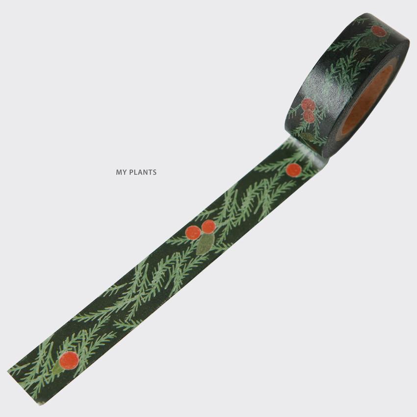 My Plants - SOSOMOONGOO Sojak5 Happy hobby masking tape