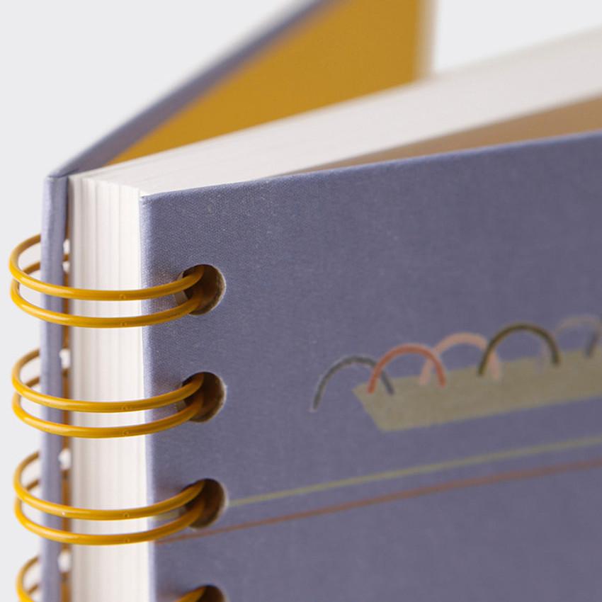 Wire bound - SOSOMOONGOO Sojak5 Happy hobby spiral blank sketch book