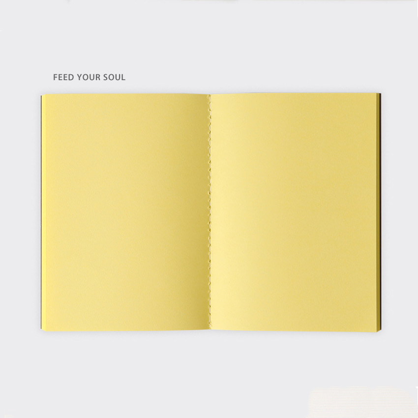 Feed Your Soul - SOSOMOONGOO Sojak5 Happy hobby A6 size sewn bound notebook
