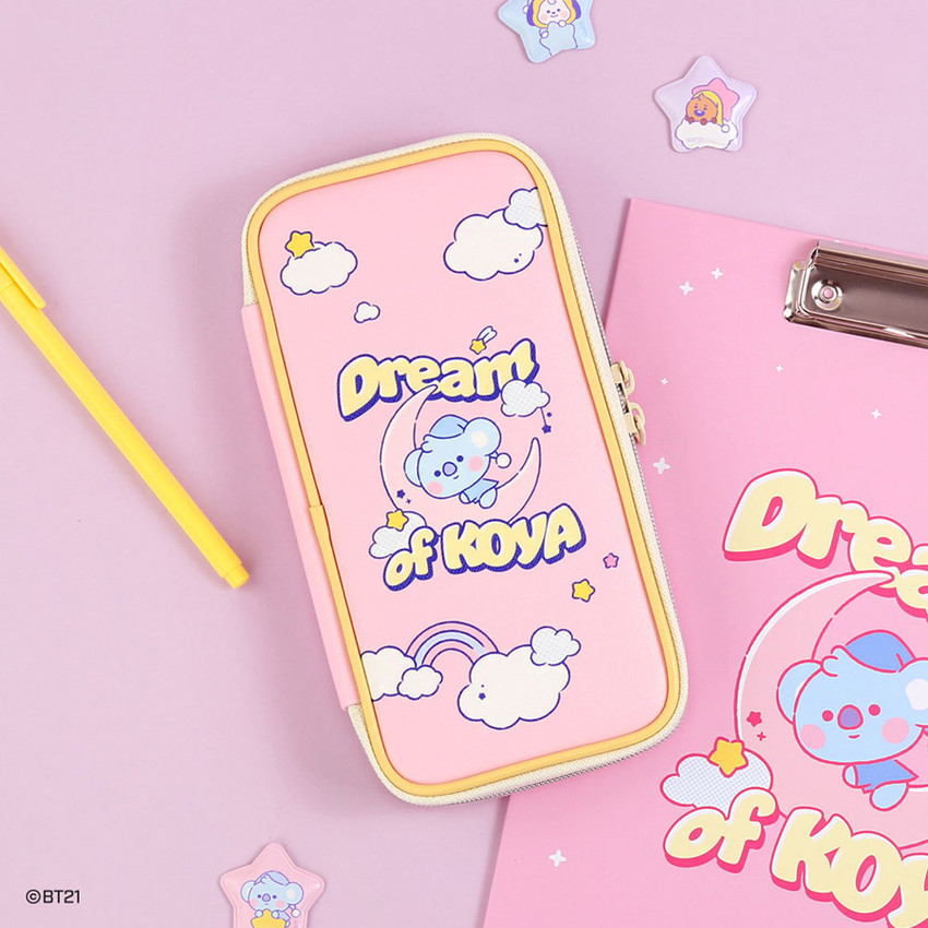 BT21 Dream baby p-pocket zipper pencil case pouch