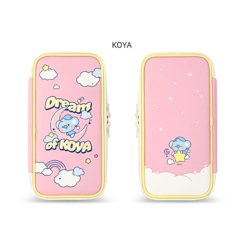 KOYA - BT21 Dream baby p-pocket zipper pencil case pouch