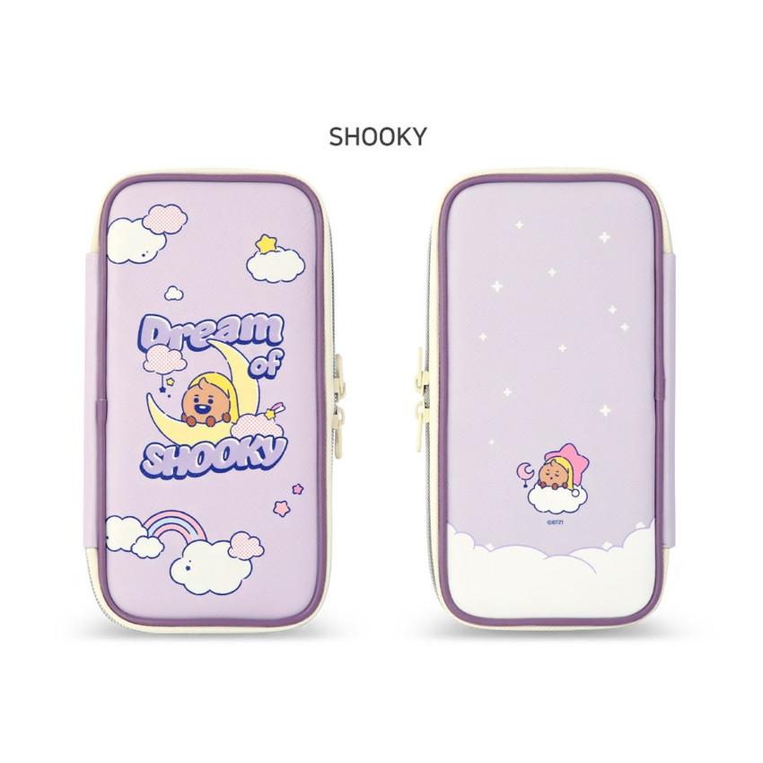 SHOOKY - BT21 Dream baby p-pocket zipper pencil case pouch