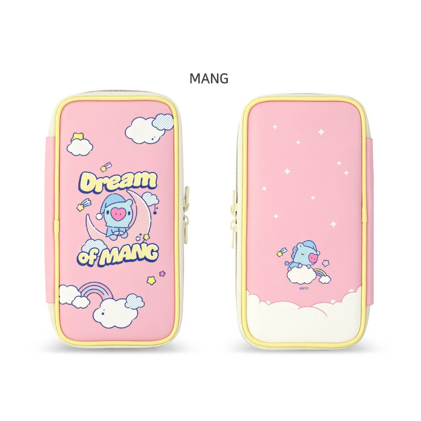 MANG - BT21 Dream baby p-pocket zipper pencil case pouch