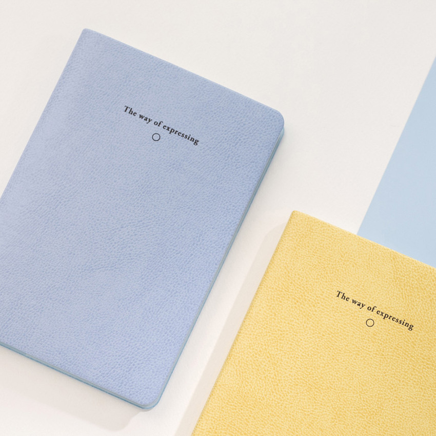 The way of expressing blank and lined notebook ver2