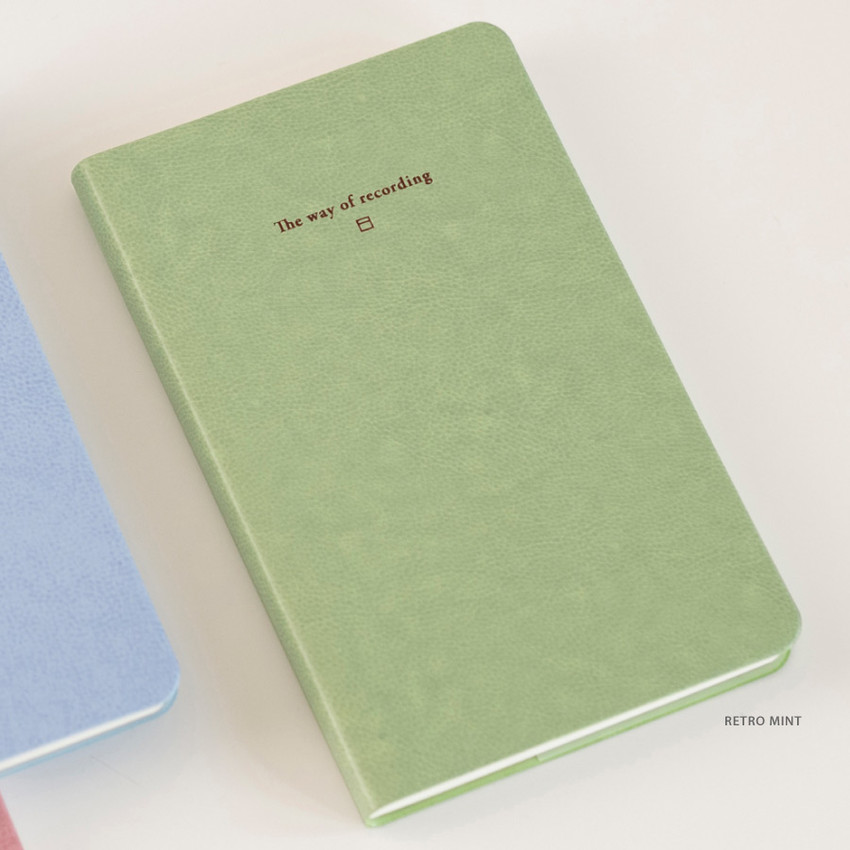 Retro Mint - Byfulldesign The way of recording grid notebook