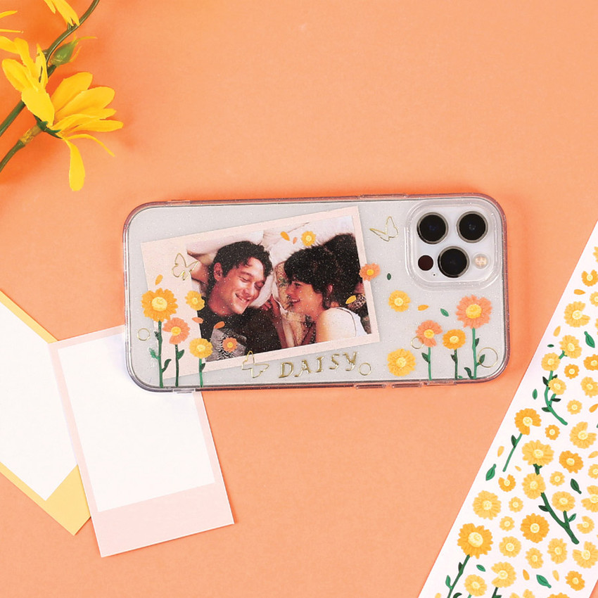 Usage example - Wanna This Forest's daisy paper sticker