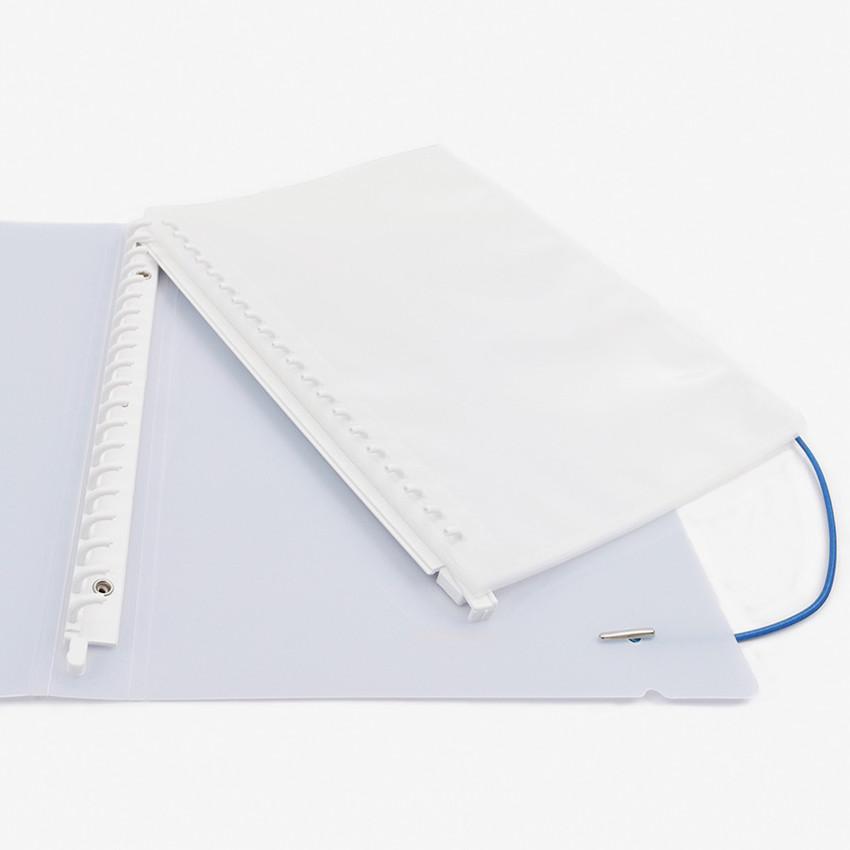 20 rings - Basic 20 rings sticker organizer pocket storage book