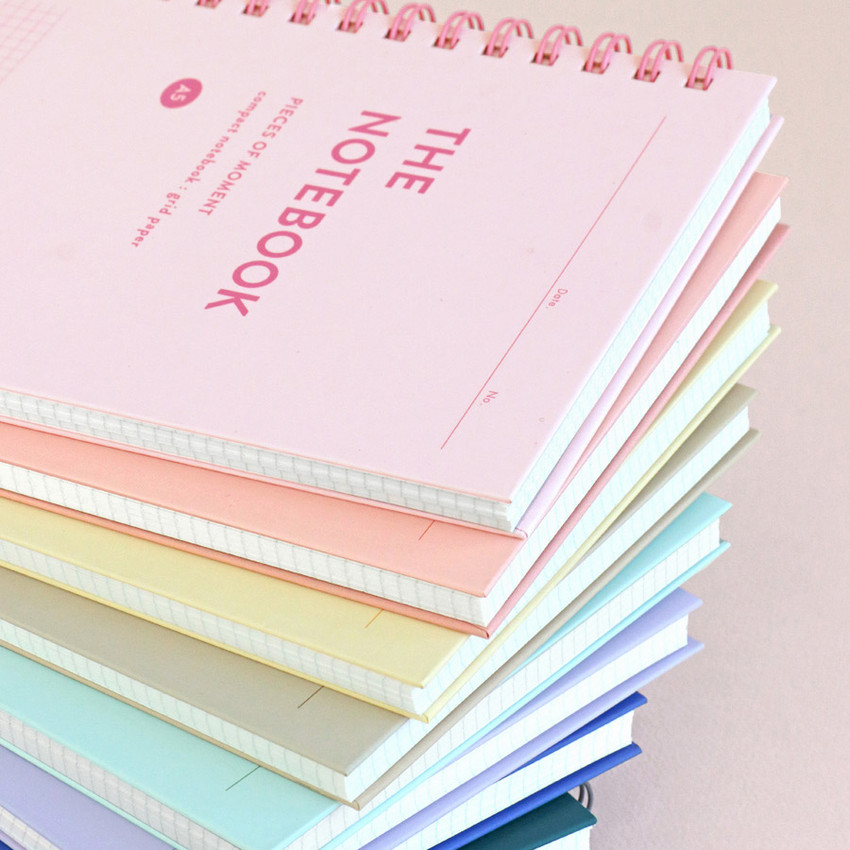 Color hardcover - ICONIC Compact A5 wire bound grid notebook