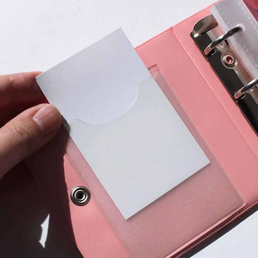 Instax mini 3 ring slip in pocket photo album