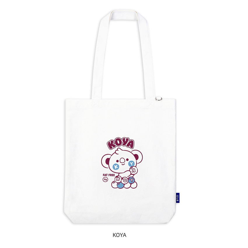 koya - BT21 Jelly Candy Baby Canvas Cotton Tote Bag