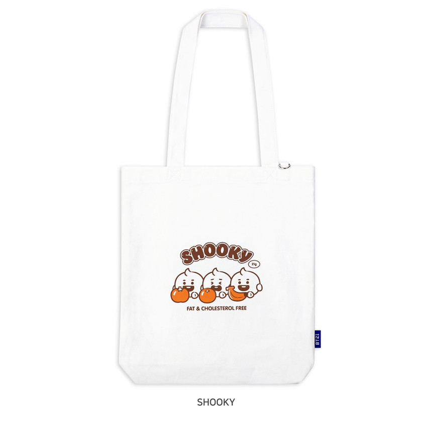 SHOOKY - BT21 Jelly Candy Baby Canvas Cotton Tote Bag