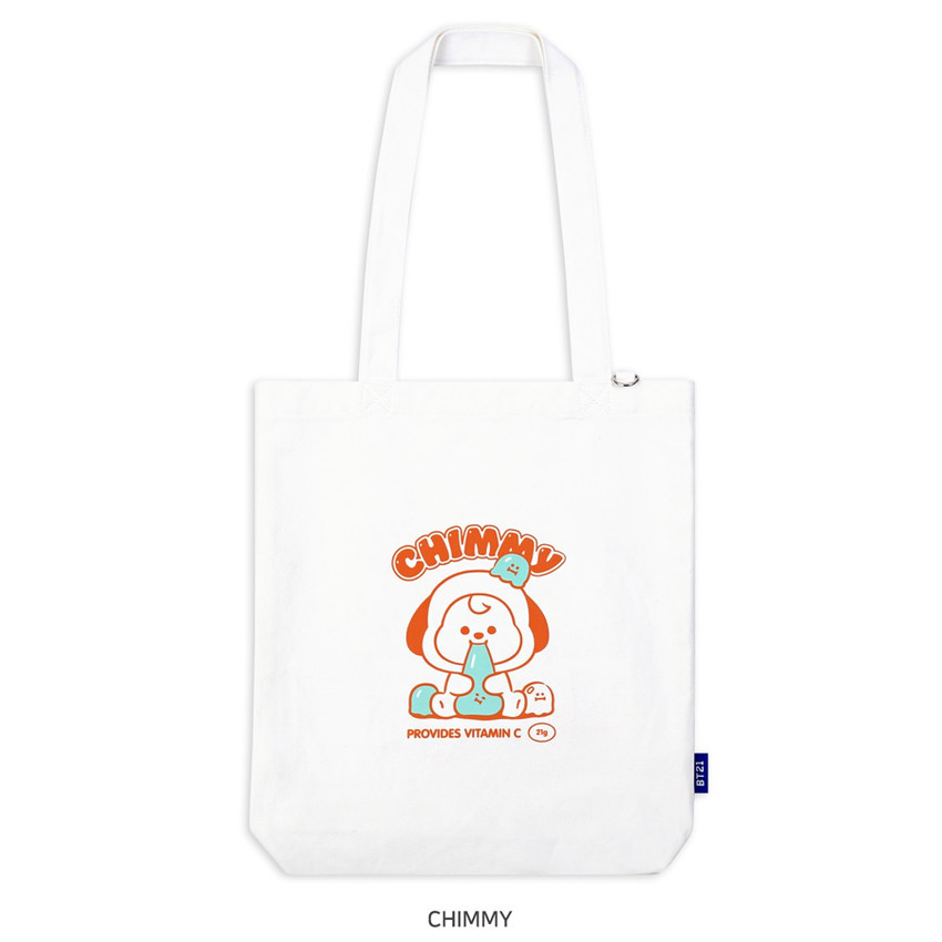 CHIMMY - BT21 Jelly Candy Baby Canvas Cotton Tote Bag