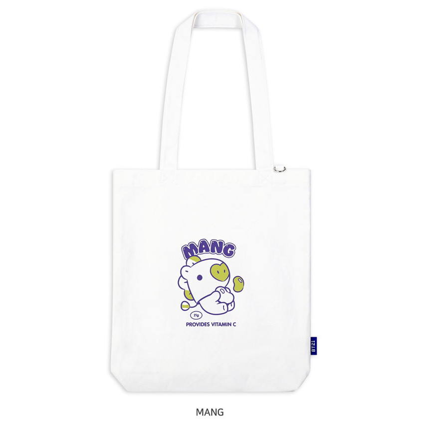 MANG - BT21 Jelly Candy Baby Canvas Cotton Tote Bag