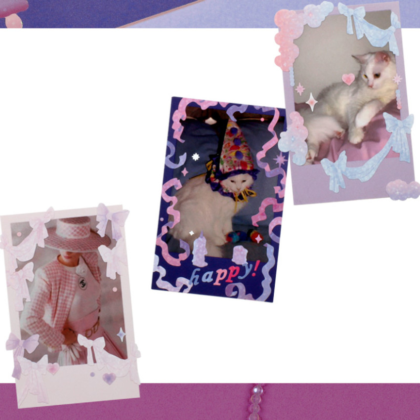 Usage example - After The Rain Fairy Forest Day and Night Sticker Seal