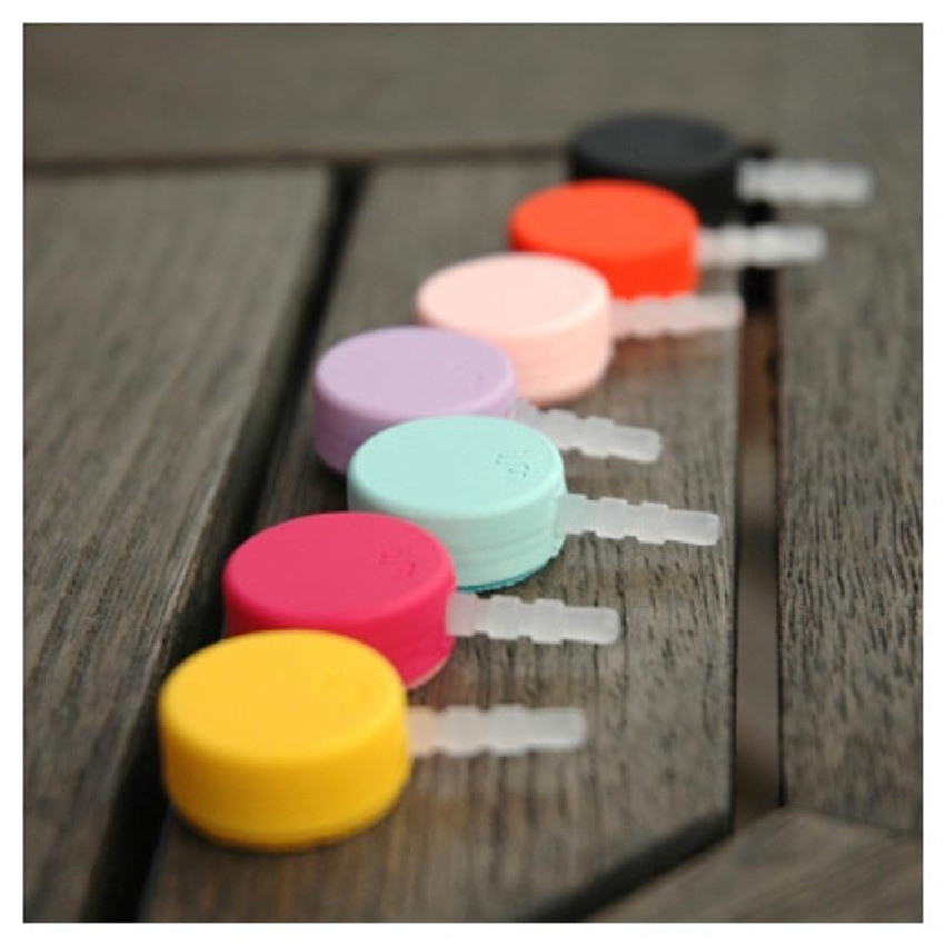 Round earphone dust plug