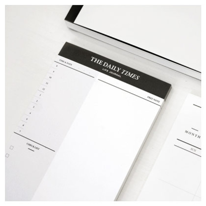 graphic about The Daily Planner identify Seeso The day-to-day situations planner notepad 50 sheets