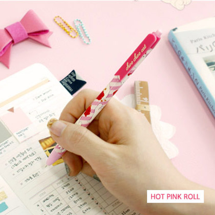 Hot pink roll