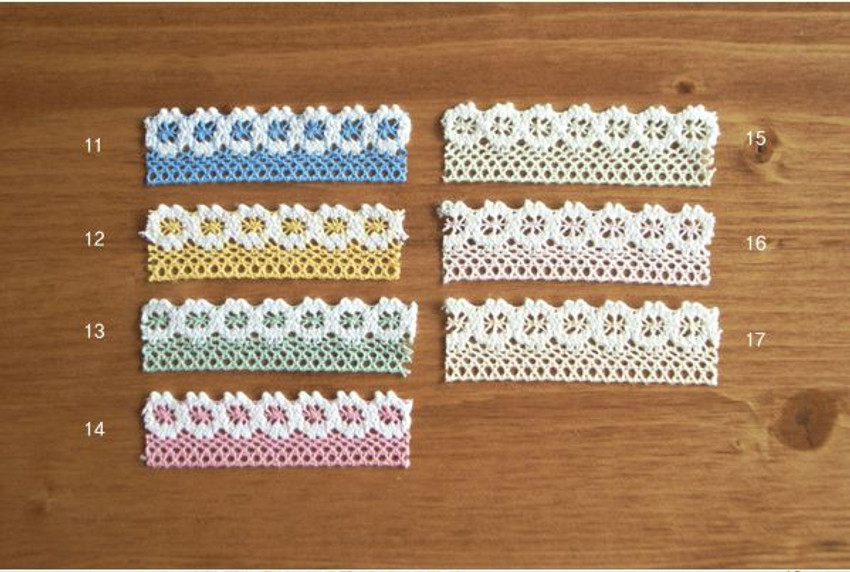 Adhesive Lace tape 11 ~ 17