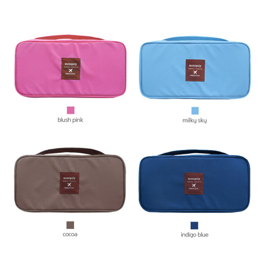 Colors of Travel underwear pouch Bra bag
