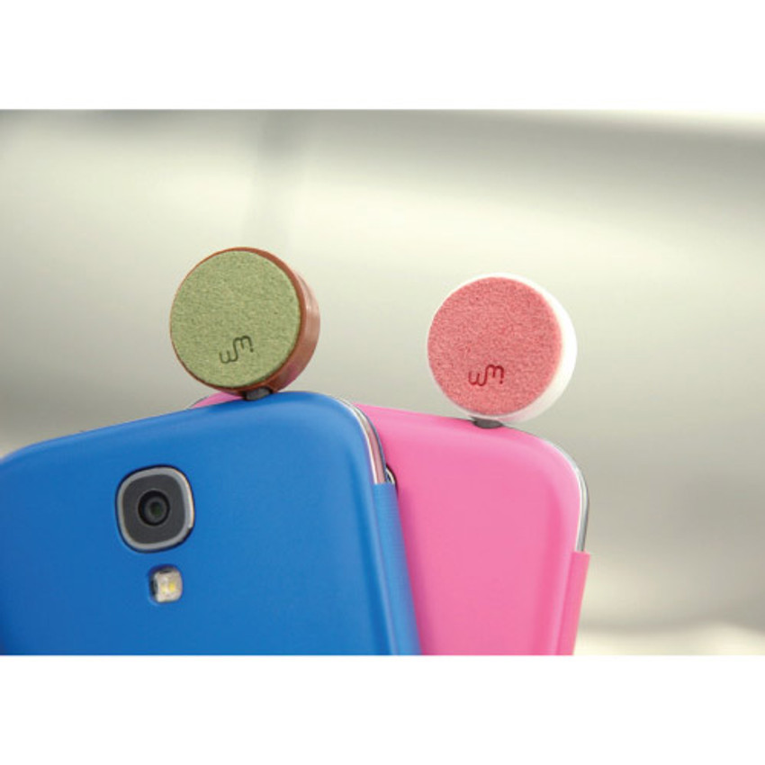 Back - Smile earphone dust plug clean cap