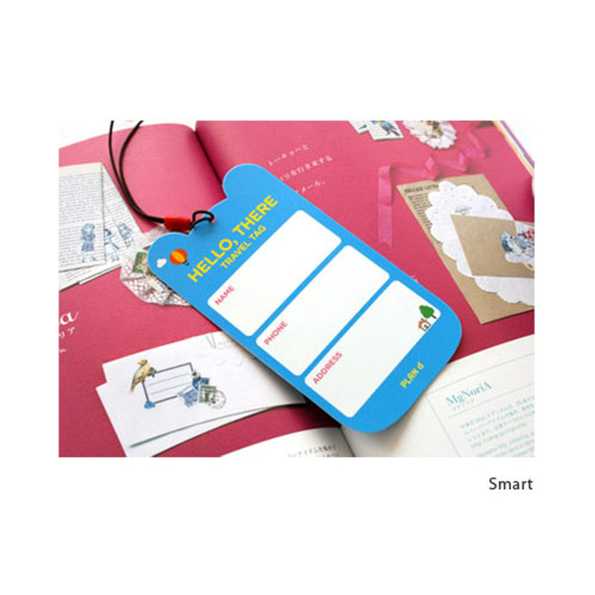 Smart - Lucky boy travel luggage name tag