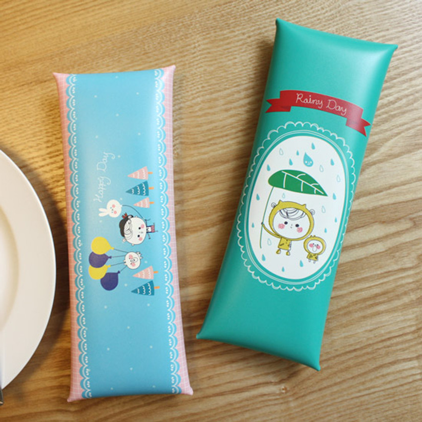 Today's picture diary folding pencil case