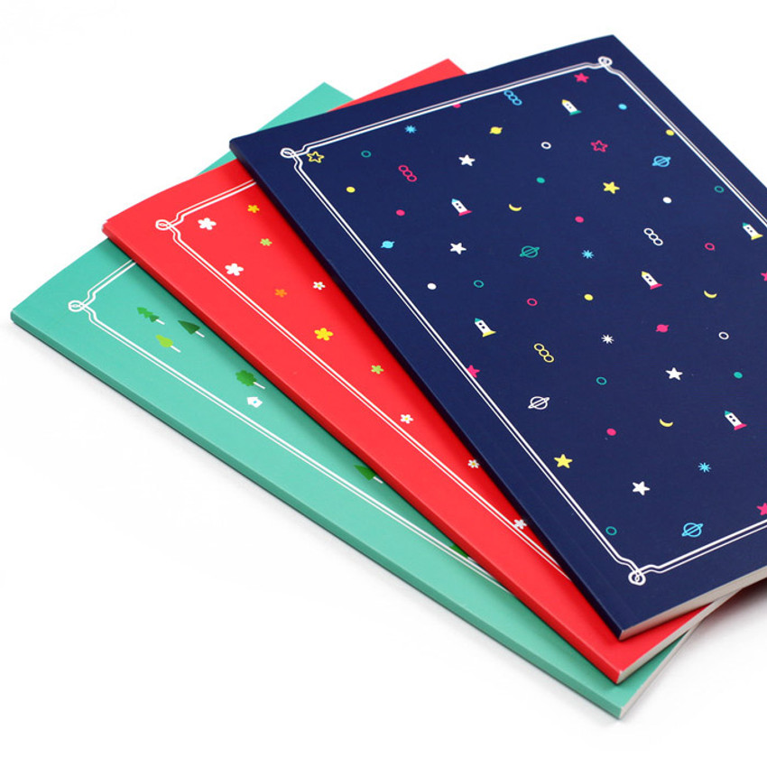 My little school lined notebook 64 pages