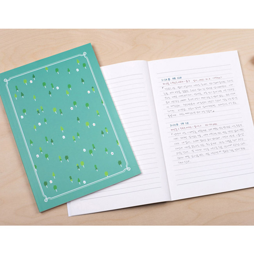 Forest - My little school lined notebook 64 pages
