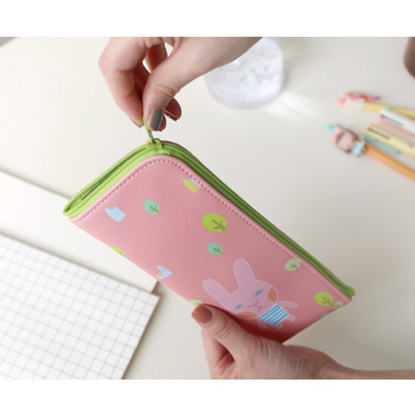 Hellogeeks from the forest zipper pencil case