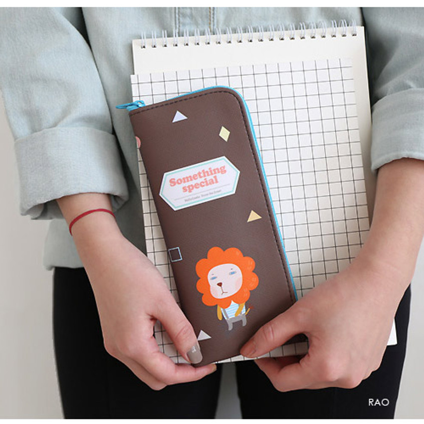 Rao - Hellogeeks from the forest zipper pencil case