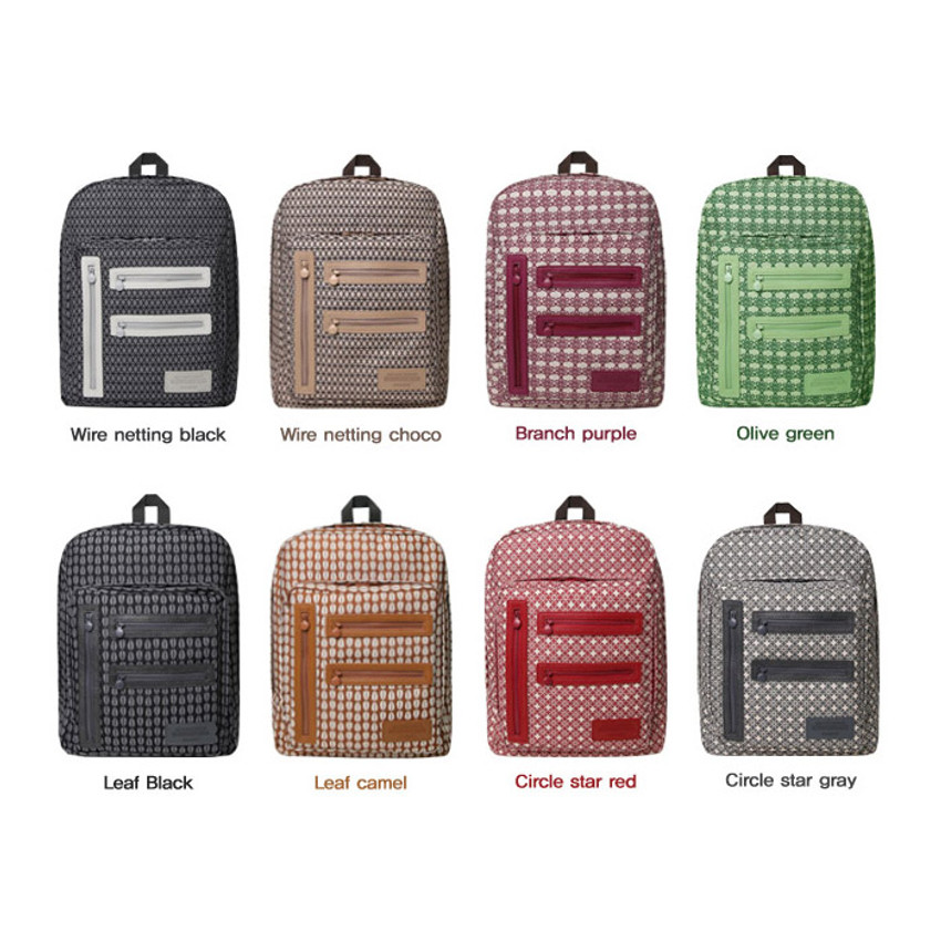 Patterns of Monopoly Vintage pattern easy carry backpack