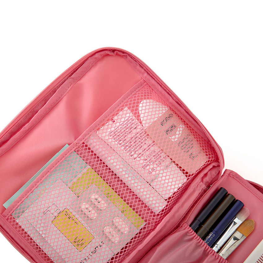 Travel mesh multi pouch bag packing aids ver.2