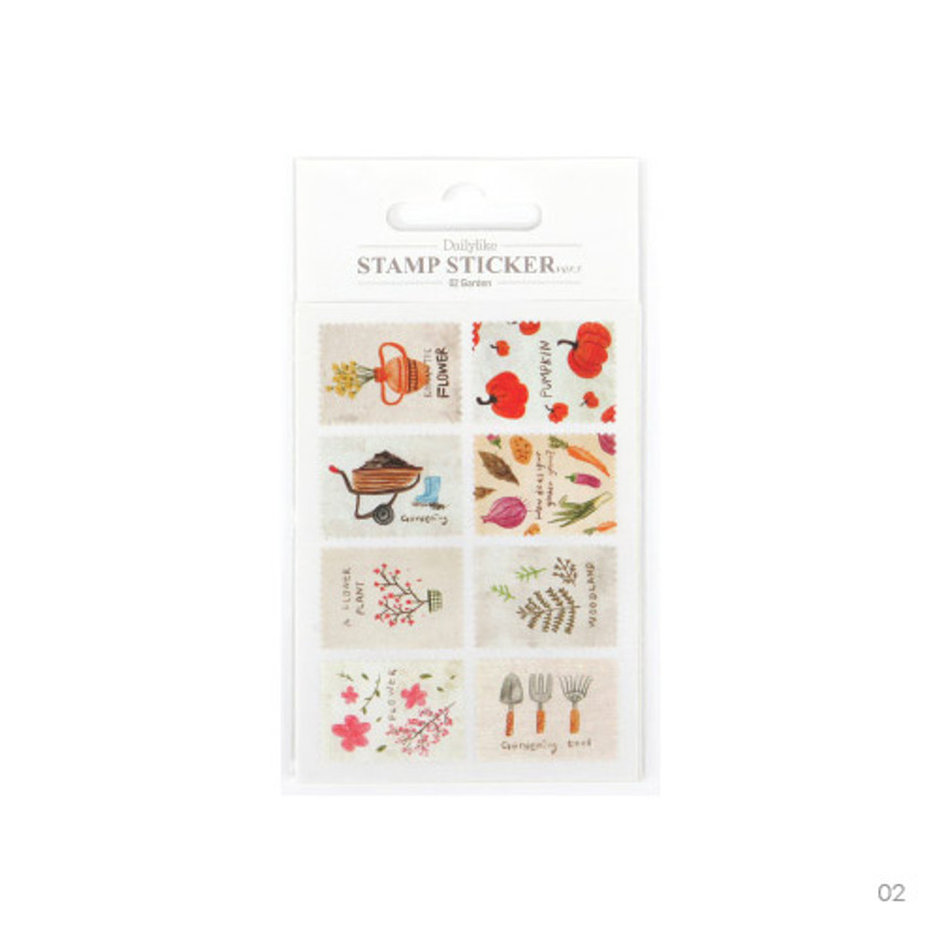 02 - Stamp deco sticker set ver.3