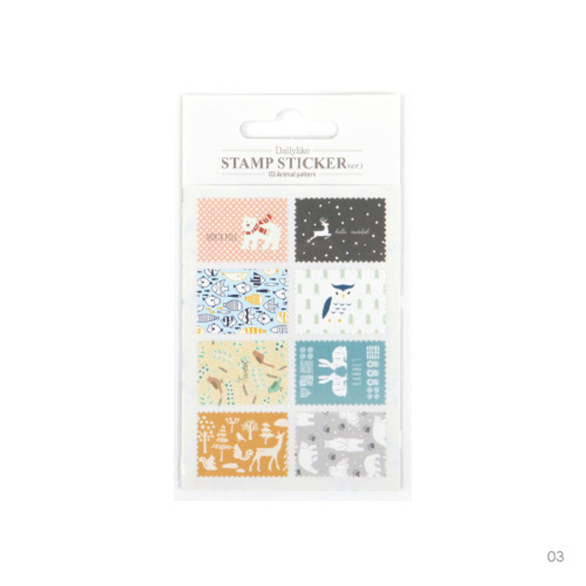 03 - Stamp deco sticker set ver.3