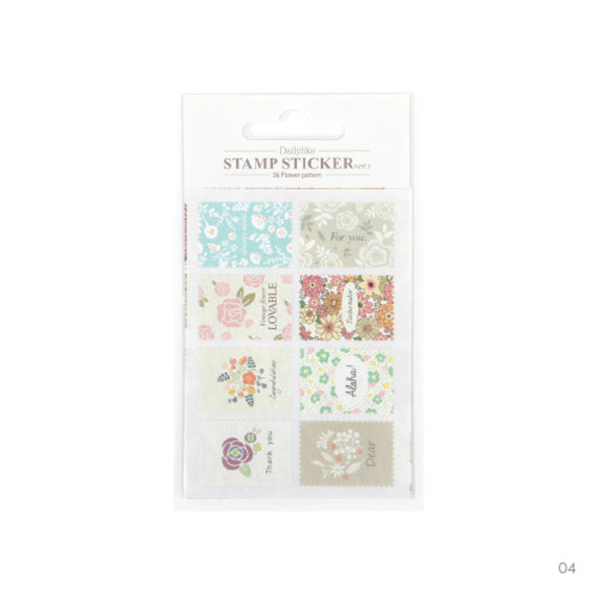 04 - Stamp deco sticker set ver.3