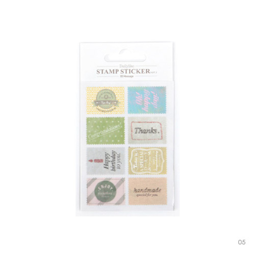 05 - Stamp deco sticker set ver.3