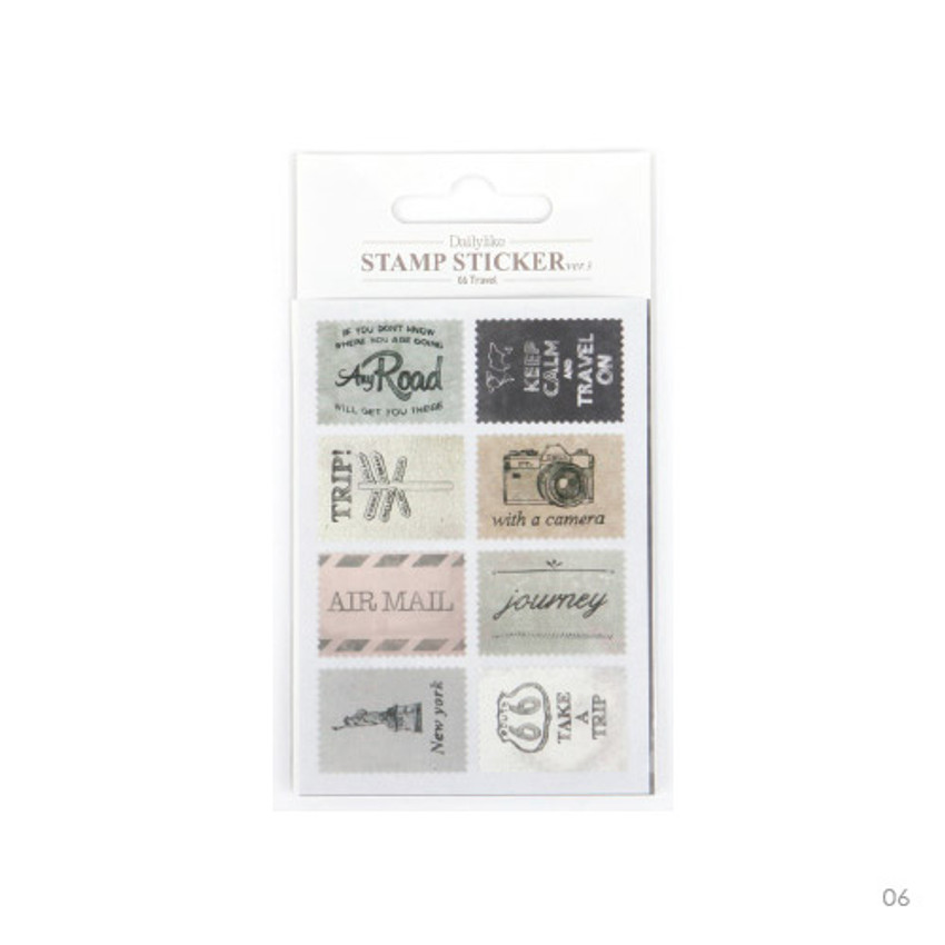 06 - Stamp deco sticker set ver.3