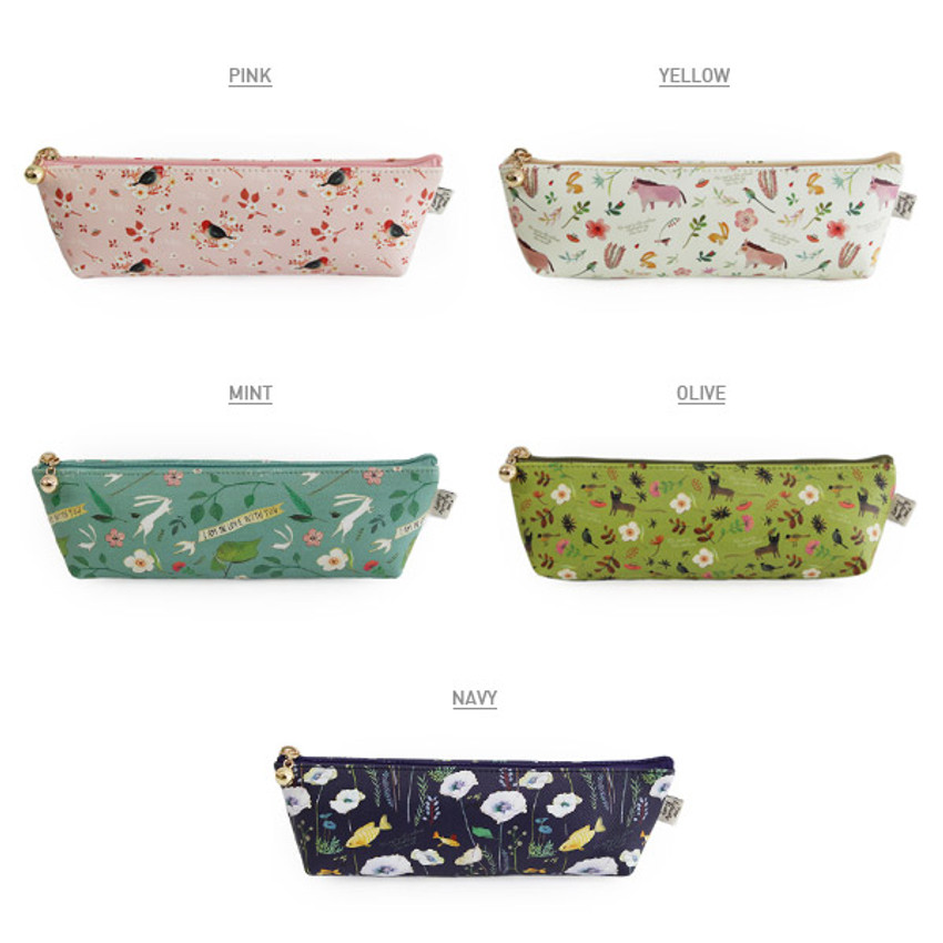 Colors of Willow story illustration pattern pencil case