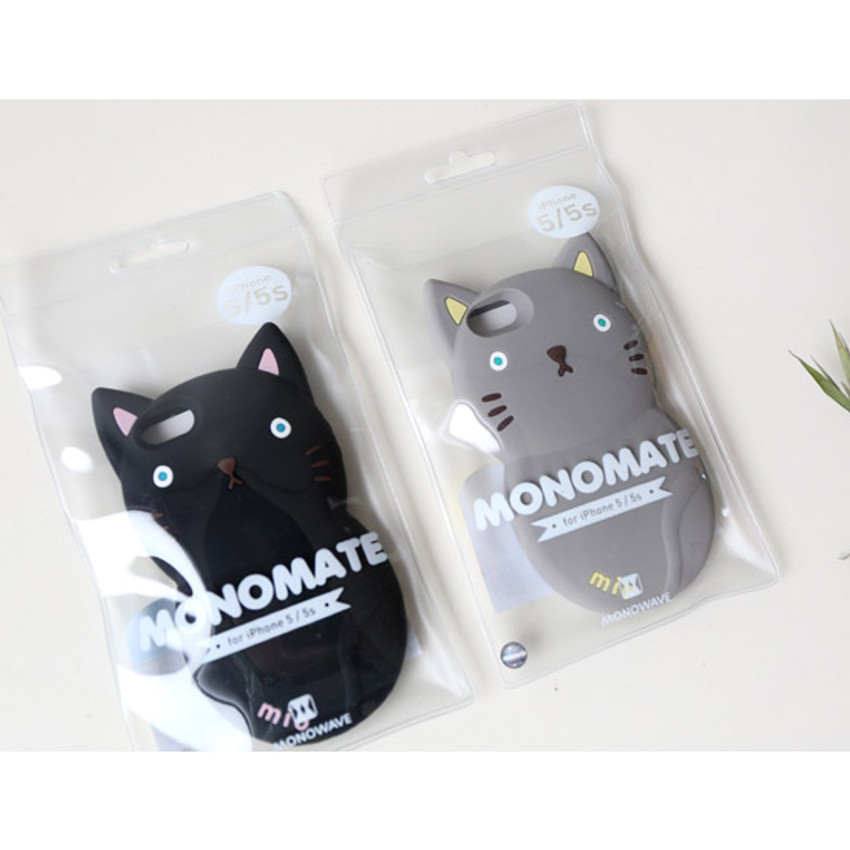 Package for Monomate cute cat iPhone 5/5S jelly case