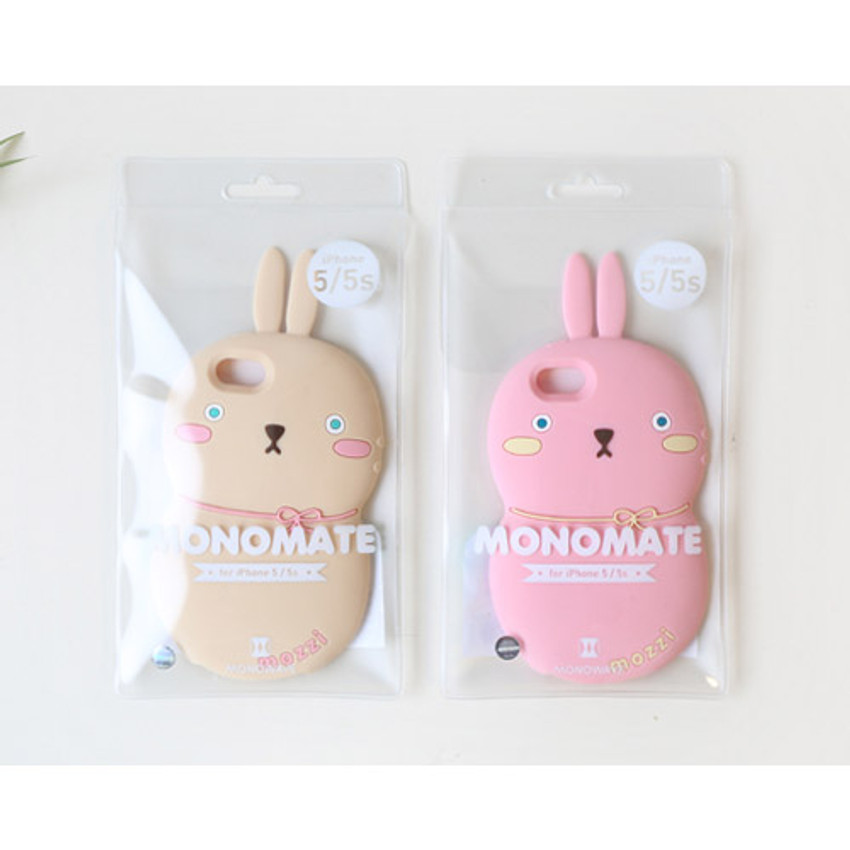Package for Monomate cute rabbit iPhone 5/5S jelly case