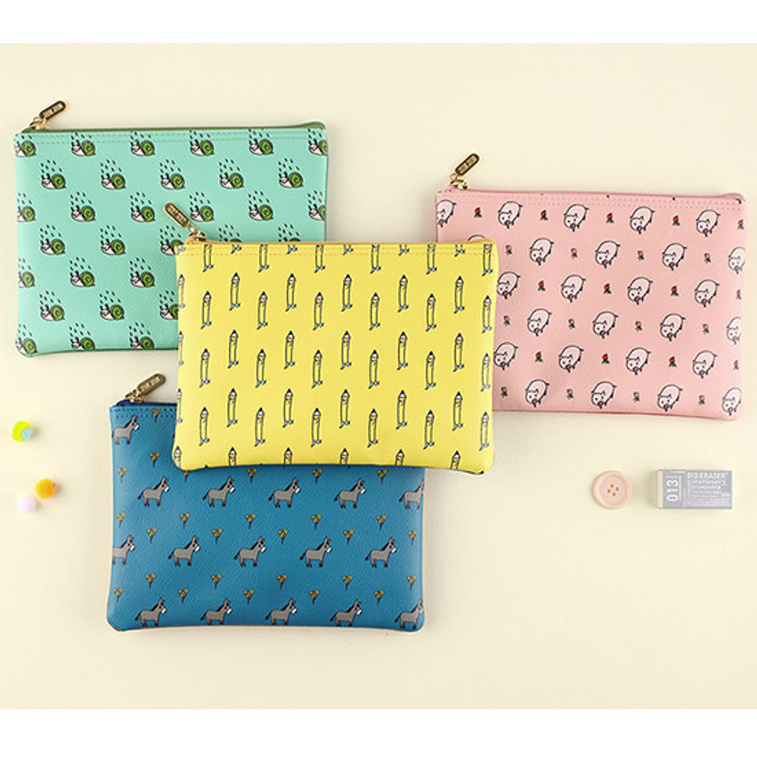 Jam Jam cute pattern daily pouch