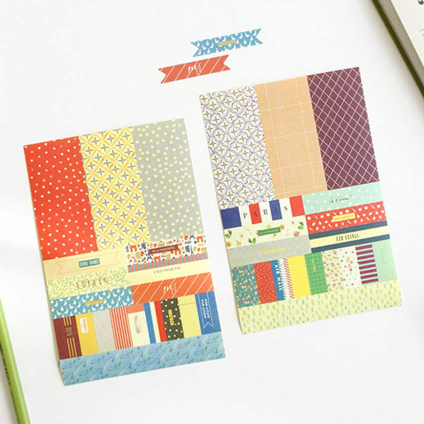 Deco stickers - 2015 Gunmangzeung Petit a petit dated diary