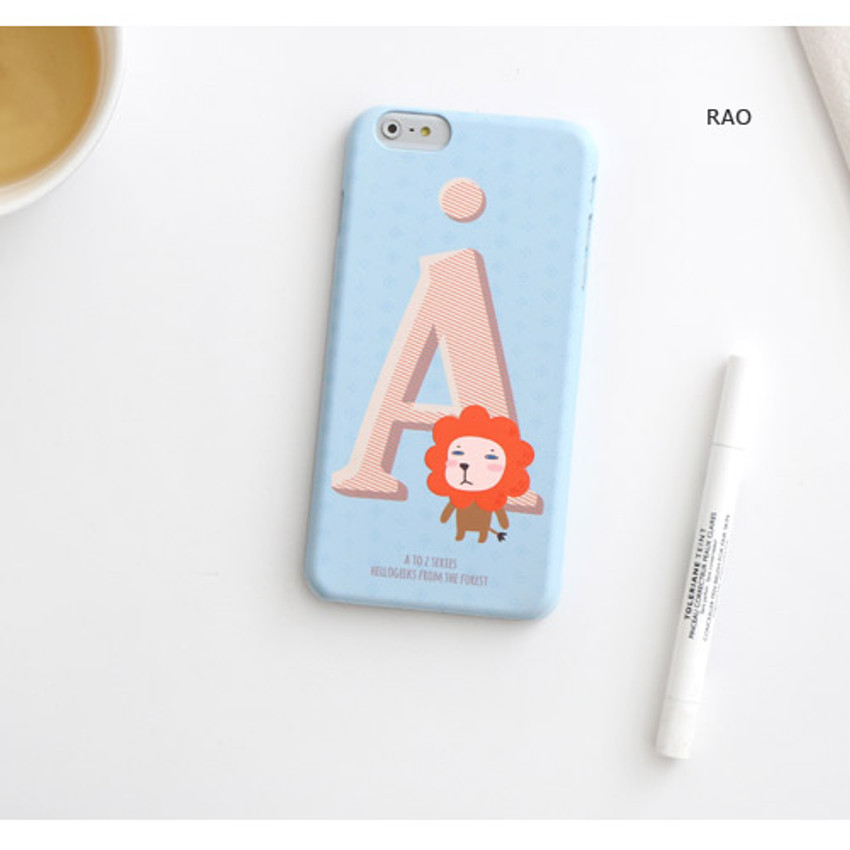 Rao - Hellogeeks from the forest pattern case for iPhone 6 plus