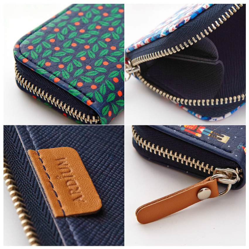 Detail of Pattern handy zipper pencil case