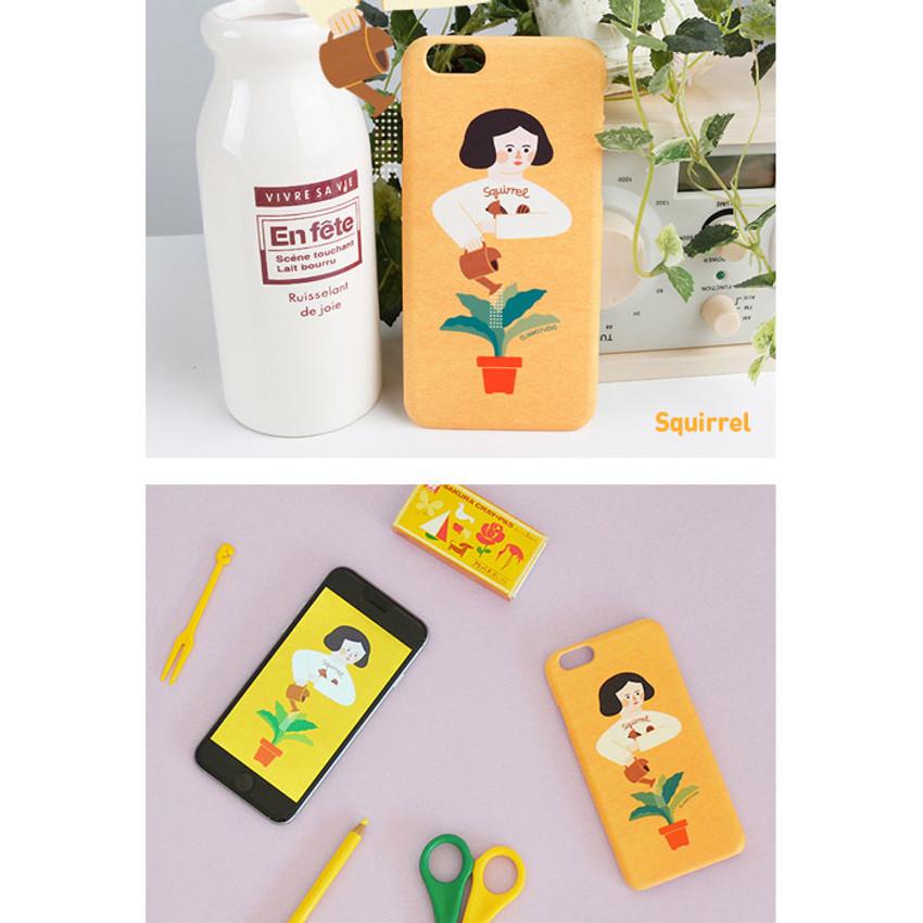 Squirrel - Du dum polycarbonate smartphone case for iPhone 6
