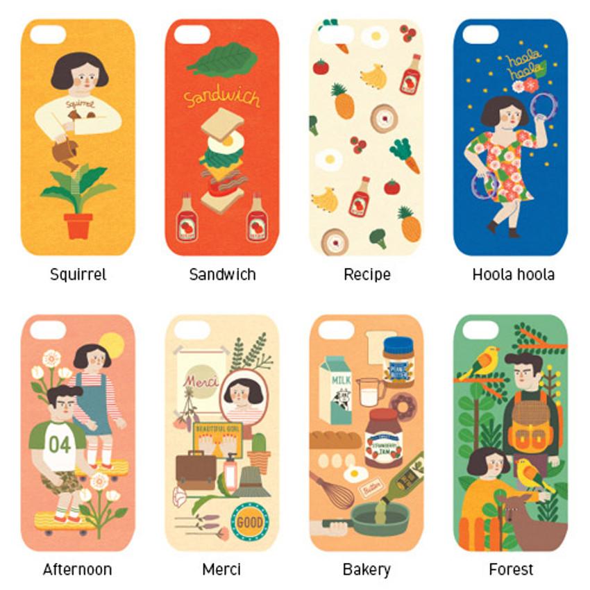 Du dum polycarbonate smartphone case for iPhone 6