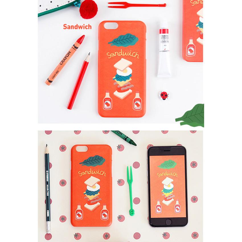 Sandwich - Du dum polycarbonate smartphone case for iPhone 6