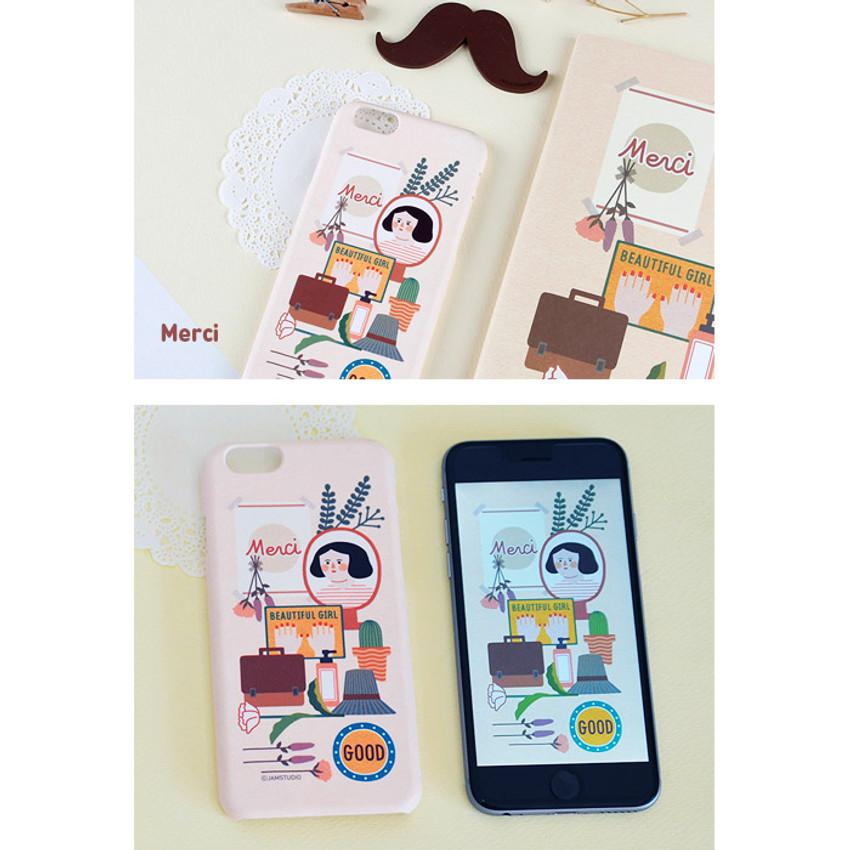 Merci - Du dum polycarbonate smartphone case for iPhone 6