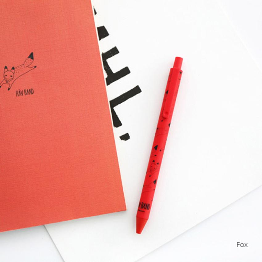 Fox - Ravband black gel pen 0.4mm