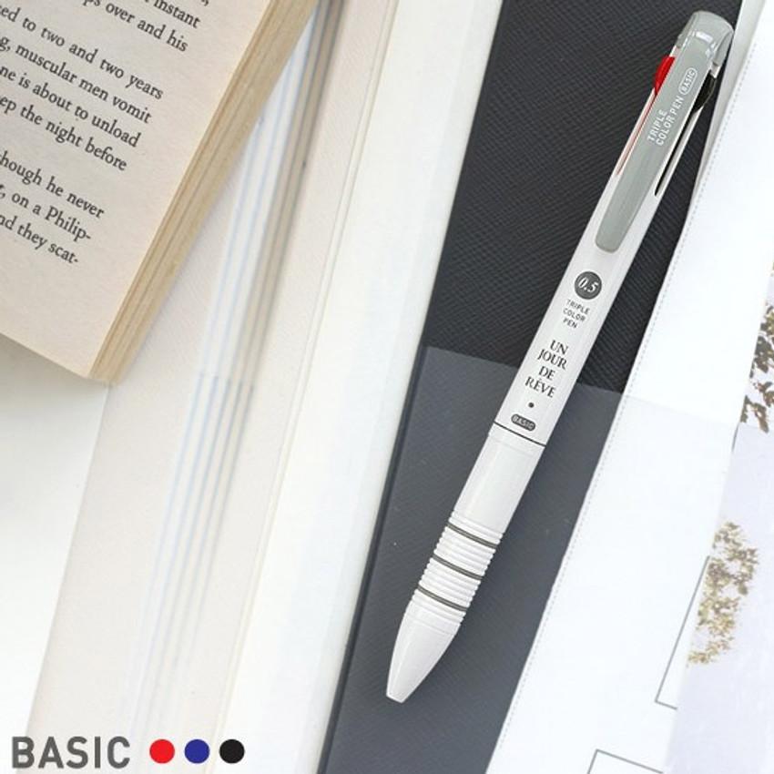 Basic - Un jour de reve triple 3 colors in 1 pen